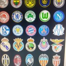 Coleccionismo deportivo: 5 LOTES DE 50 UNIDS/LOTE DIY PEGATINAS CREATIVAS GRAFFITI CLUB DE FÚTB. Lote 160798138