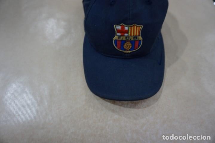 Coleccionismo deportivo: Gorra barcelona barsa barça centenario - Foto 2 - 161237118