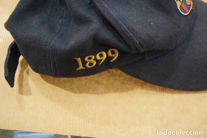 Coleccionismo deportivo: Gorra barcelona barsa barça centenario - Foto 3 - 161237118