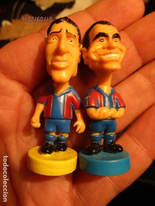 Coleccionismo deportivo: FCB 2001 BARCELONA FUTBOL CLUB COLECCION COMPLETA 12 MUÑECOS - Foto 28 - 161204938