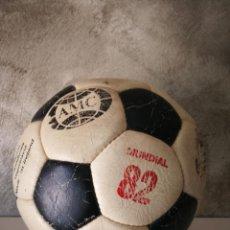 Coleccionismo deportivo: ANTIGUO BALÓN DE FÚTBOL MUNDIAL 82. Lote 161347190