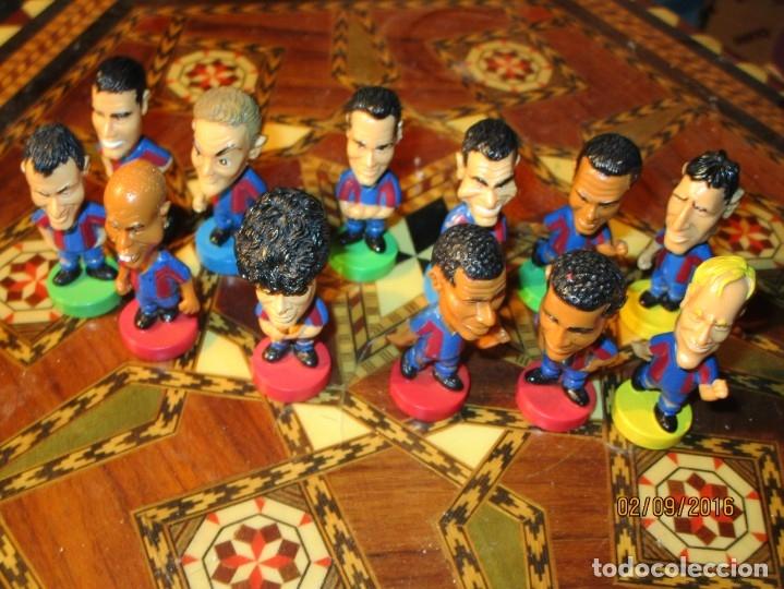 FCB 2001 BARCELONA FUTBOL CLUB COLECCION COMPLETA 12 MUÑECOS (Coleccionismo Deportivo - Material Deportivo - Fútbol)