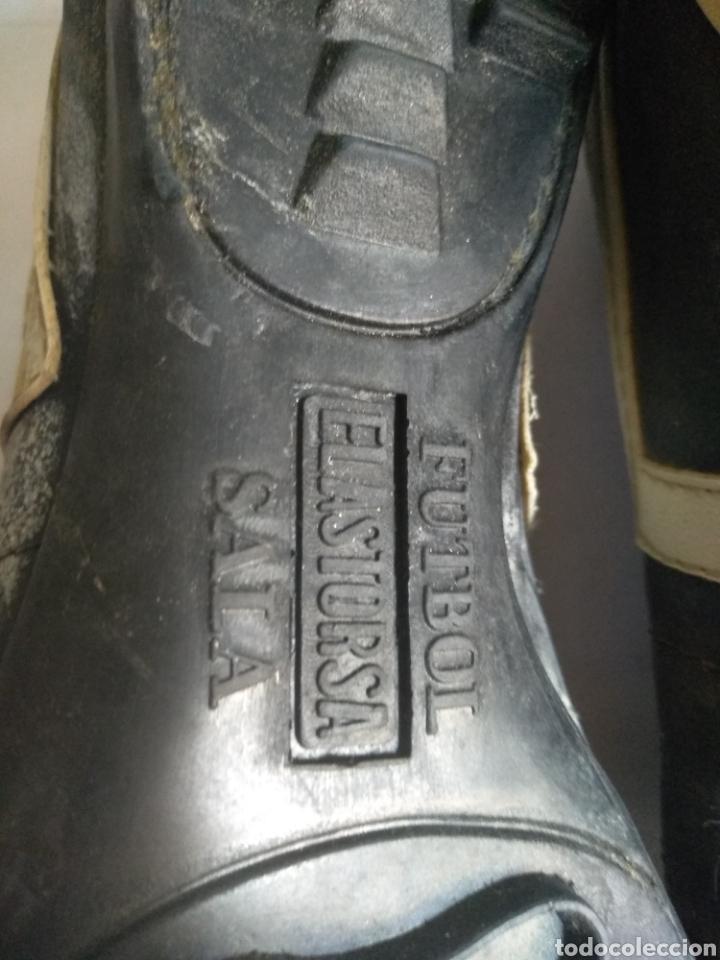 Coleccionismo deportivo: Botas de fútbol Sala Elastorsa,marca Platiny años 80 - Foto 6 - 163082514