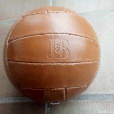 Coleccionismo deportivo: BALÓN DE PIEL DE PUBLICIDAD DE VARIAS MARCAS DE BEBIDAS. Lote 163496770