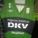 Coleccionismo deportivo: DKV JOVENTUT BADALONA M (MAL ESTADO) CAMISETA BASKET BASQUET SHIRT . Lote 164783690