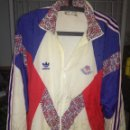Coleccionismo deportivo: BARCELONA 92 JJOO MATCH WORN ENGLAND XXL VINTAGE JACKET CHAQUETA . Lote 164784426