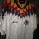 Coleccionismo deportivo: DEUTSCHLAND GERMANY TRIKOT L VINTAGE CAMISETA FUTBOL FOOTBALL SHIRT . Lote 164784806