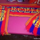 Coleccionismo deportivo: FC BARCELONA BUFANDA SCARF FOOTBALL RARE VINTAGE . Lote 164785134