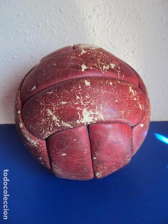 (F-190588)BALON FUTBOL12 PANELES PEGASO AÑOS 60S (Coleccionismo Deportivo - Material Deportivo - Fútbol)