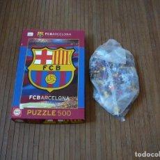 Coleccionismo deportivo: PUZZLE FÚTBOL CLUB BARCELONA. 500 PIEZAS PRECINTADAS.. Lote 165447950