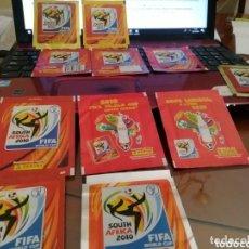 Coleccionismo deportivo: MUNDIAL SUDÁFRICA 2010. COLECCIÓN DE RELIQUIAS.. Lote 165799842