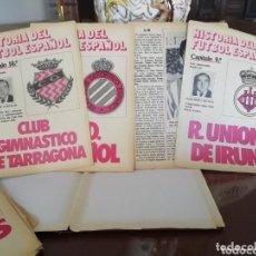 Coleccionismo deportivo: DON BALON. 20 SUPLEMENTOS FÚTBOL ESPAÑOL AÑOS 80. Lote 166067814