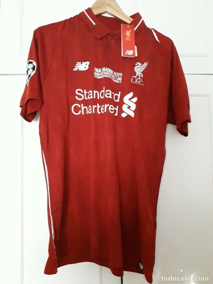 Camiseta Casa Liverpool Fc Final Champions 2019 Talla L Firmino Liverpool Camisa 2019moselle Scarpincueca Matchblusa Marvel