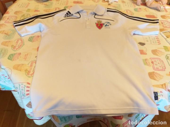 Coleccionismo deportivo: camiseta polo real zaragoza 75 años ( adidas) - Foto 2 - 167971688