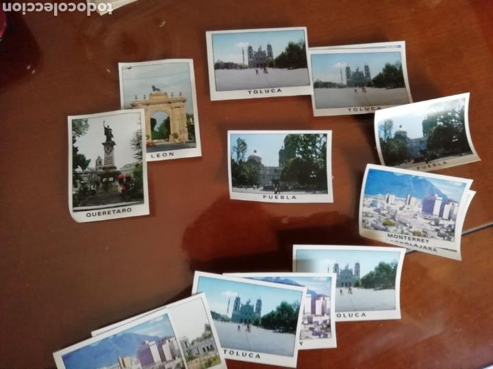 Coleccionismo deportivo: Mundial MÉXICO 1986. Cromos 15 ciudades sedes. - Foto 2 - 168217154