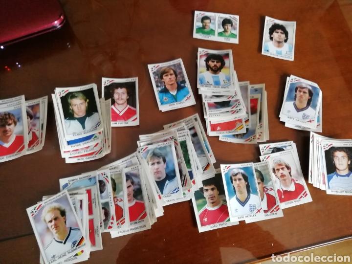 Coleccionismo deportivo: Mundial MÉXICO 1986. 170 cromos y cromo Maradona - Foto 3 - 168218857