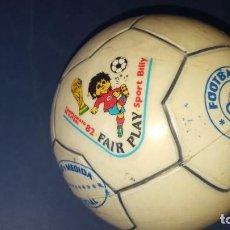Coleccionismo deportivo: MUNDIAL FUTBOL ESPAÑA 82 - BALON DE FUTBOL. Lote 168604220