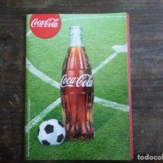 Coleccionismo deportivo: KIT FÚTBOL CHAPAS COCA-COLA. Lote 168703272
