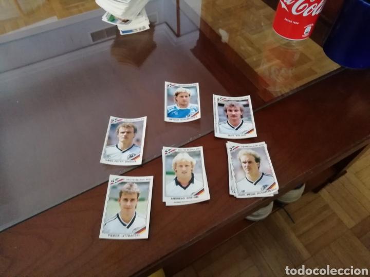 Coleccionismo deportivo: Cromos Alemania. Mundial México 86. Lote de 6 cromos. - Foto 3 - 168845310