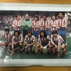 Coleccionismo deportivo: POSTER DEL ATLÉTICO DE MADRID. ALINEACIÓN. AÑOS 70.. Lote 169474816
