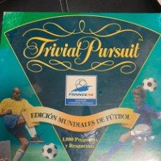 Coleccionismo deportivo: TRIVIAL PURSUIT EDICIÓN MUNDIALES FRANCIA 98. Lote 169842674