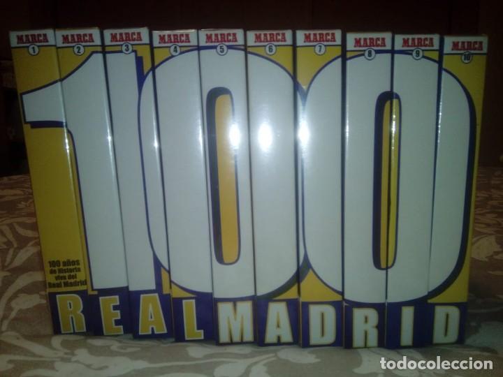 100 AÑOS DE HISTORIA VIVA DEL REAL MADRID. 10 CINTAS VHS PRECINTADAS, 2001 (Coleccionismo Deportivo - Material Deportivo - Fútbol)