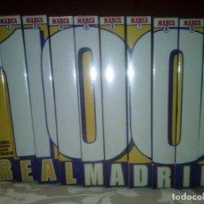 Coleccionismo deportivo: 100 AÑOS DE HISTORIA VIVA DEL REAL MADRID. 10 CINTAS VHS PRECINTADAS, 2001. Lote 170016688