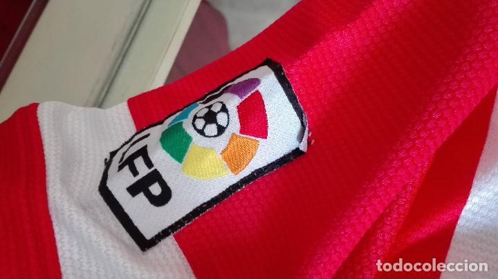 Coleccionismo deportivo: CAMISETA ATLETICO DE MADRID AZERBAIJAN VER FOTOS PARTE TRASERA LEER DESCRIPCIÓN - Foto 3 - 170338048