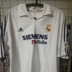 Coleccionismo deportivo: RONALDO REAL MADRID L FOOTBALL FUTBOL CAMISETA SHIRT. Lote 170950140