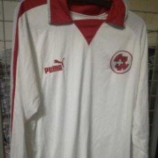 Coleccionismo deportivo: SUISSE SWITTZERLAND XL FOOTBALL FUTBOL CAMISETA SHIRT. Lote 170951230