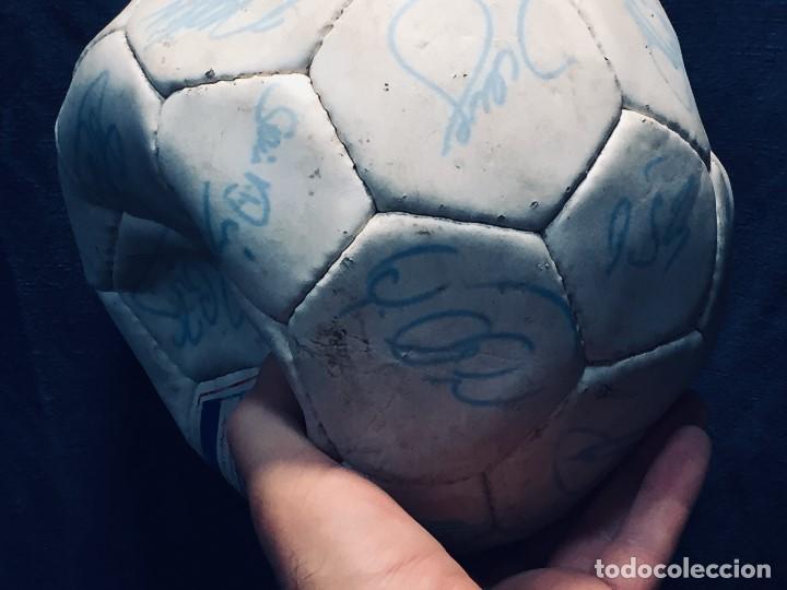 Coleccionismo deportivo: balon futbol oficial world cup fifa world cup años 80 españa firmado firmas ver fotos - Foto 2 - 170970270
