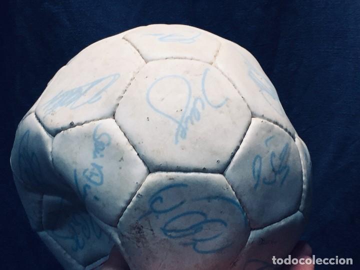 Coleccionismo deportivo: balon futbol oficial world cup fifa world cup años 80 españa firmado firmas ver fotos - Foto 3 - 170970270