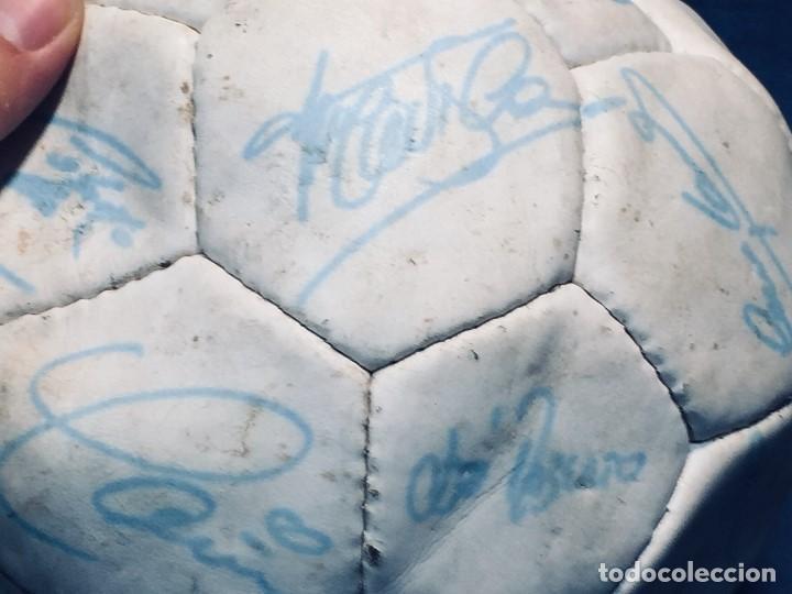 Coleccionismo deportivo: balon futbol oficial world cup fifa world cup años 80 españa firmado firmas ver fotos - Foto 14 - 170970270