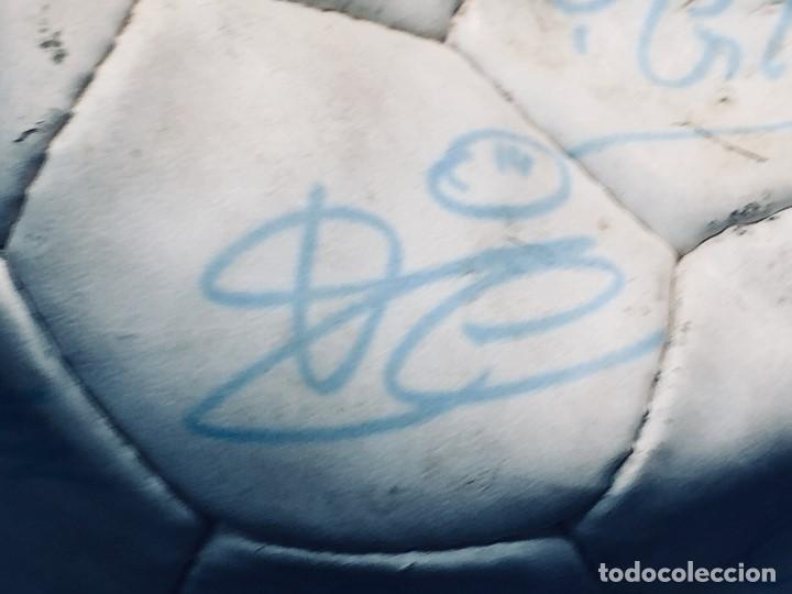Coleccionismo deportivo: balon futbol oficial world cup fifa world cup años 80 españa firmado firmas ver fotos - Foto 16 - 170970270