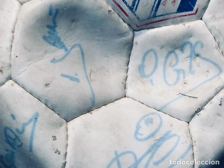 Coleccionismo deportivo: balon futbol oficial world cup fifa world cup años 80 españa firmado firmas ver fotos - Foto 17 - 170970270