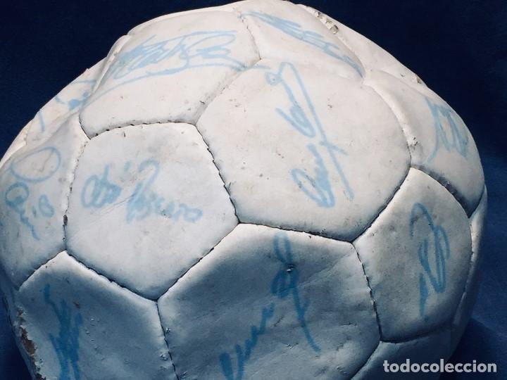 Coleccionismo deportivo: balon futbol oficial world cup fifa world cup años 80 españa firmado firmas ver fotos - Foto 23 - 170970270