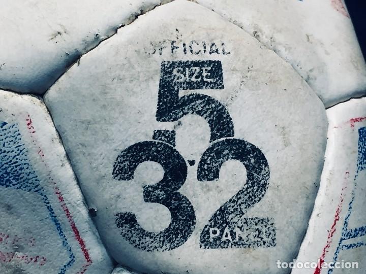 Coleccionismo deportivo: balon futbol oficial world cup fifa world cup años 80 españa firmado firmas ver fotos - Foto 27 - 170970270