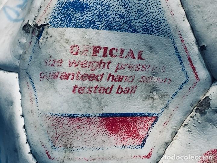 Coleccionismo deportivo: balon futbol oficial world cup fifa world cup años 80 españa firmado firmas ver fotos - Foto 28 - 170970270