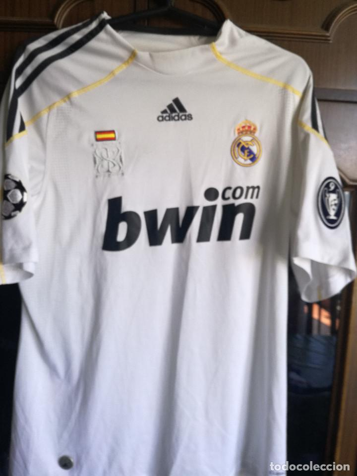 more photos a70e6 82f90 REAL MADRID LUXE RAUL CHAMPIONS M camiseta futbol football shirt trikot