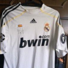 Coleccionismo deportivo: REAL MADRID LUXE RAUL CHAMPIONS M CAMISETA FUTBOL FOOTBALL SHIRT TRIKOT. Lote 170970395