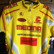Coleccionismo deportivo: MEDINA XL CICLISMO CICLISTA CYCLING JERSEY MAILLOT. Lote 211987287