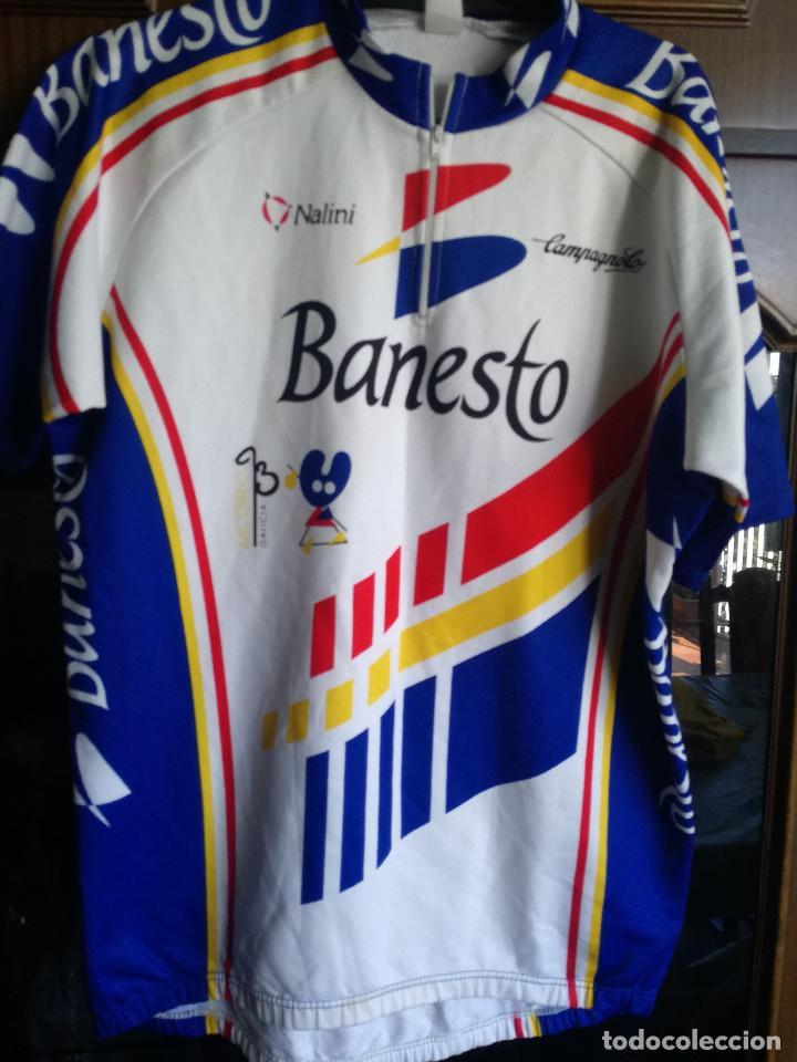 BANESTO XACOBEO XXL CICLISMO CICLISTA CYCLING JERSEY MAILLOT (Coleccionismo Deportivo - Material Deportivo - Fútbol)