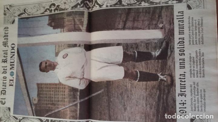 Coleccionismo deportivo: REAL MADRID C.F COLECCION HISTORICA - MATERIAL DIVERSO ( PERIODICOS, POSTER, LAMINAS) - Foto 2 - 171025153