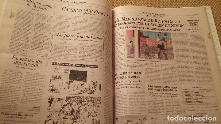 Coleccionismo deportivo: REAL MADRID C.F COLECCION HISTORICA - MATERIAL DIVERSO ( PERIODICOS, POSTER, LAMINAS) - Foto 6 - 171025153