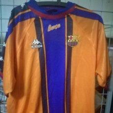 Coleccionismo deportivo: FC BARCELONA KAPPA M FUTBOL CAMISETA FOOTBALL SHIRT TRIKOT FUSSBALL. Lote 171032605