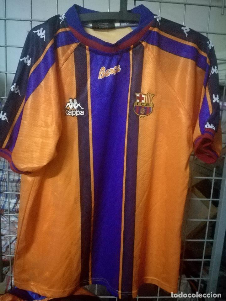 best service f19a7 12ae3 FC BARCELONA KAPPA XL futbol camiseta football shirt trikot fussball