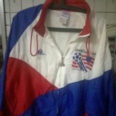 Coleccionismo deportivo: USA 1994 MUNDIA FC VINTAGE XL JACKET CHAQUETA FUTBOL CAMISETA FOOTBALL SHIRT TRIKOT FUSSBALL . Lote 171035844