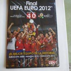 Coleccionismo deportivo: DVD FINAL UEFA EURO 2012. ESPAÑA VS ITALIA . SIN ABRIR . VER FOTO. Lote 171136857