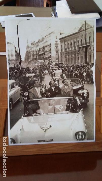 Coleccionismo deportivo: COLECCION LAMINAS HISTORICAS REAL MADRID- DIARIO MARCA - Foto 4 - 172080630