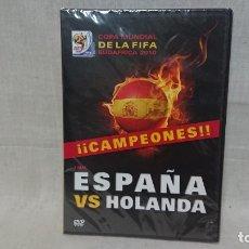 Colecionismo desportivo: DVD FÚTBOL ESPAÑA VS HOLANDA - COPA MUNDIAL DE LA FIFA 2010 - PRECINTADO . Lote 172306905